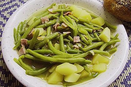 Bohnen - Kartoffel - Eintopf 3