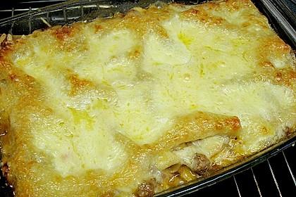 Lasagne mit Hackfleisch und Äpfeln 4