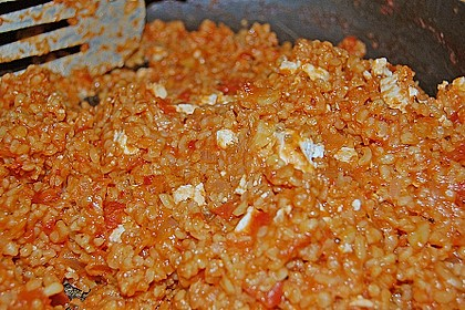 Bulgur - Tomaten - Feta - Pfanne 14