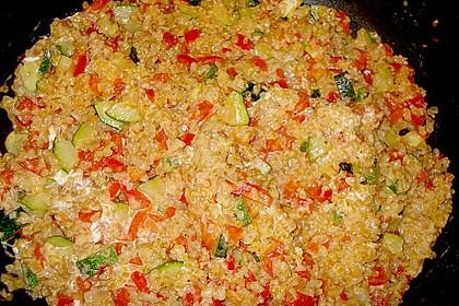 Bulgur - Tomaten - Feta - Pfanne 3
