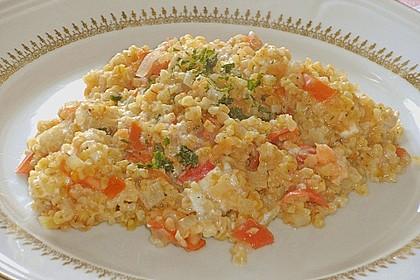 Bulgur - Tomaten - Feta - Pfanne 9