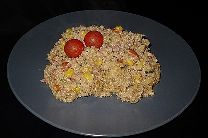 Bulgur - Tomaten - Feta - Pfanne 5