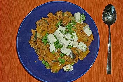 Bulgur - Tomaten - Feta - Pfanne 13