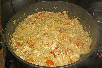 Bulgur - Tomaten - Feta - Pfanne 17