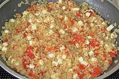 Bulgur - Tomaten - Feta - Pfanne 19