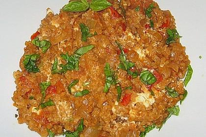 Bulgur - Tomaten - Feta - Pfanne 10