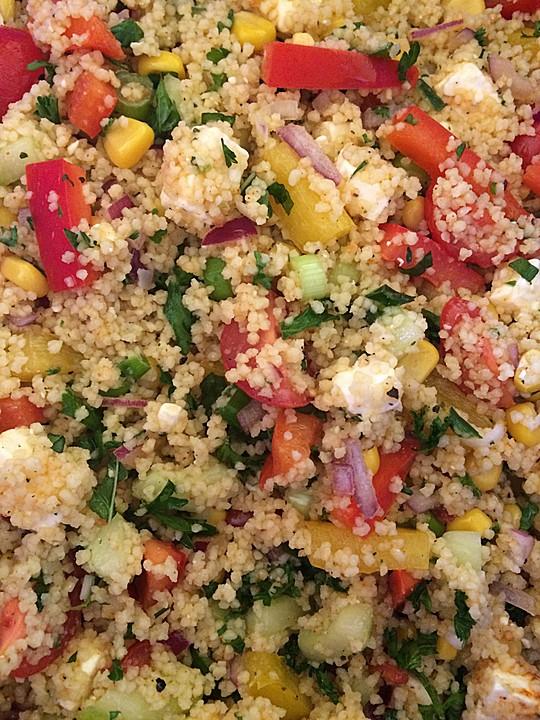 Couscous salat foe