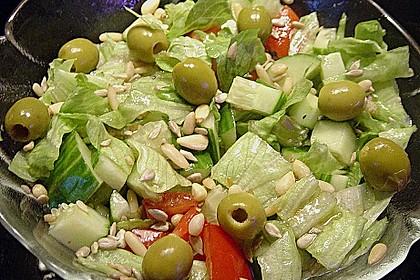 Salat mit Kernen 2