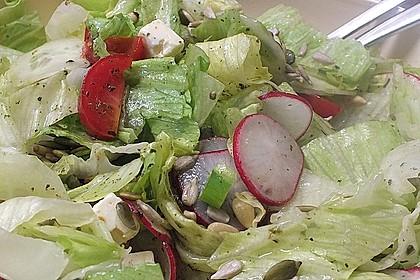 Salat mit Kernen 1