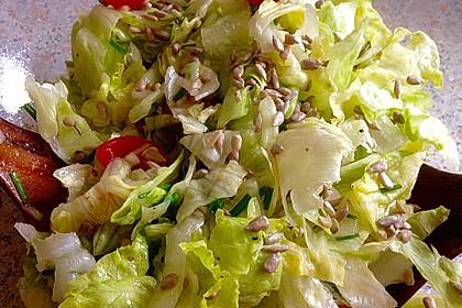 Salat mit Kernen 3