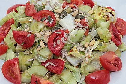 Salat mit Kernen 4