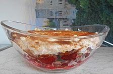 Himbeer - Schmand - Dessert