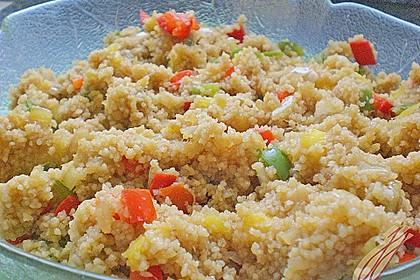 Couscous - Mango - Salat 11