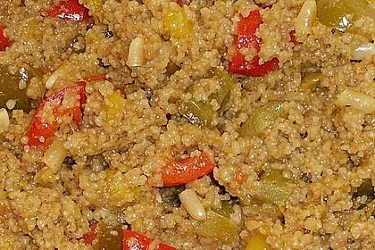 Couscous - Mango - Salat 13