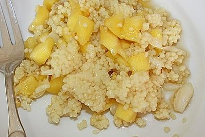 Couscous - Mango - Salat 4