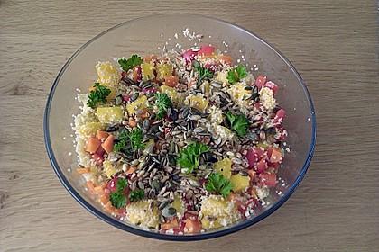 Couscous - Mango - Salat 9