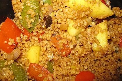 Couscous - Mango - Salat 8