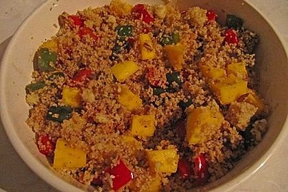 Couscous - Mango - Salat 5