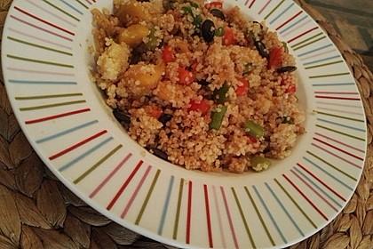 Couscous - Mango - Salat 15