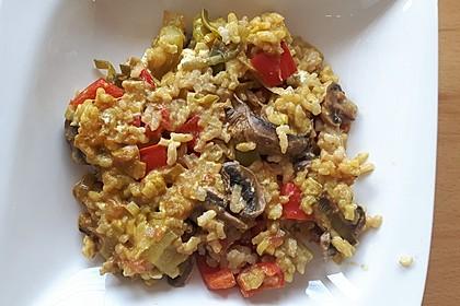 Vegetarische Reispfanne 11