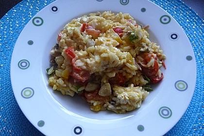 Vegetarische Reispfanne 6