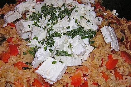 Vegetarische Reispfanne 23