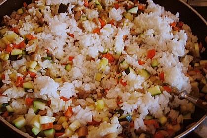 Vegetarische Reispfanne 28