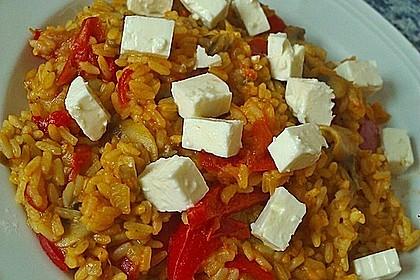 Vegetarische Reispfanne 8