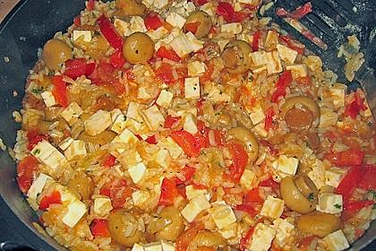 Vegetarische Reispfanne 24