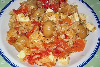 Vegetarische Reispfanne 19