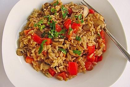 Vegetarische Reispfanne 3