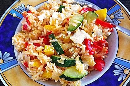 Vegetarische Reispfanne 17