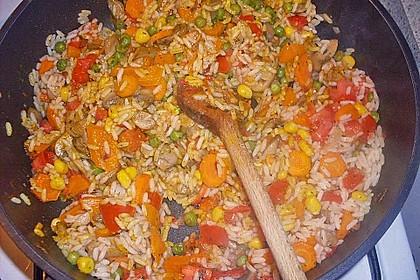 Vegetarische Reispfanne 10