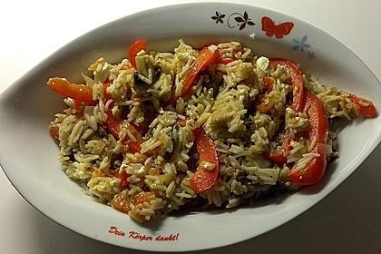Vegetarische Reispfanne 22