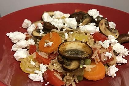 Vegetarische Reispfanne 21