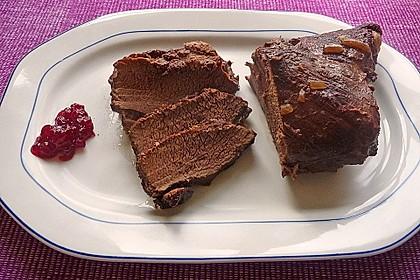 Wildschweinbraten in Steinpilz-Rotwein-Sauce 1