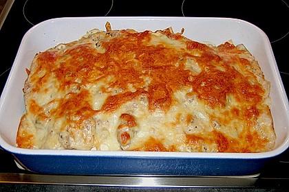 Cannelloni 'salmone e gamberetti' alla Anna 1