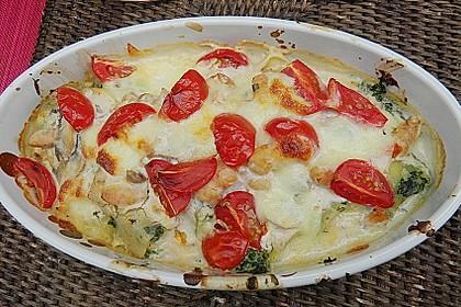 Cannelloni 'salmone e gamberetti' alla Anna 11