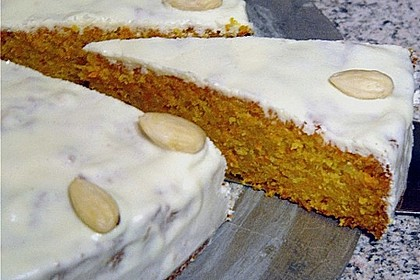 Alina´s Carrot Cake mit Butter Cream Cheese Frosting 14
