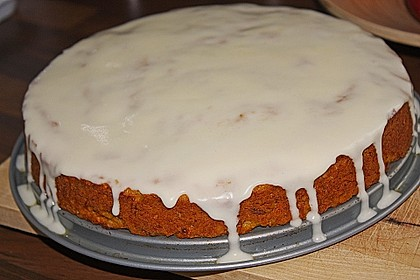 Alina´s Carrot Cake mit Butter Cream Cheese Frosting 13