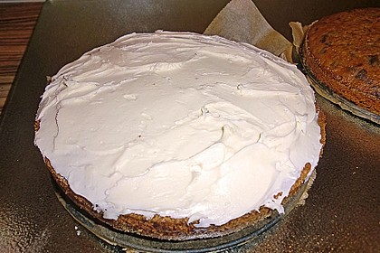 Alina´s Carrot Cake mit Butter Cream Cheese Frosting 18