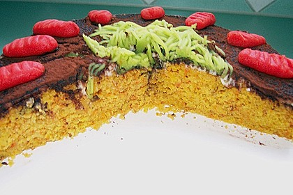 Alina´s Carrot Cake mit Butter Cream Cheese Frosting 26