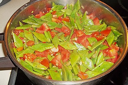 Bohnen - Tomaten - Gemüse 2