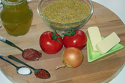 Bulgur mit Tomaten 9