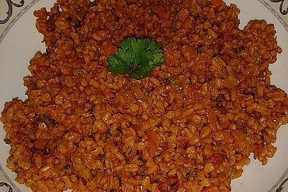 Bulgur mit Tomaten 6