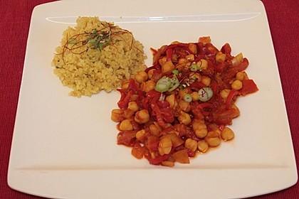 Bulgur mit Tomaten 4