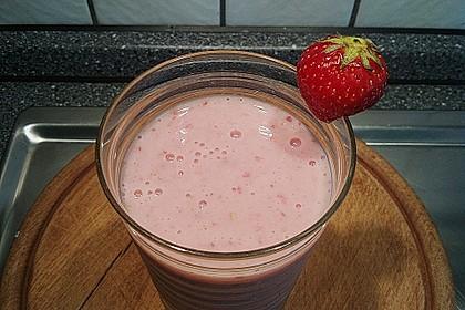 Erdbeer - Shake ohne Milch 1