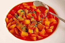 Kartoffel-Paprika Gulasch