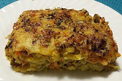 Chinakohl - Lasagne 4