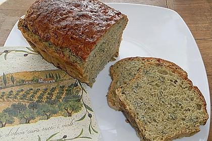 Steirisches Kürbiskern-Brot mit Kürbiskernöl 42